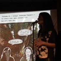 Mira Jacob brought the house to tears with a preview of her forthcoming graphic-memoir.