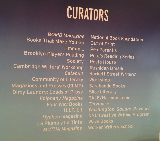 We partnered with Mutha Magazine and Brooklyn Players Reading Society to present a night of amazing mutha-writers.