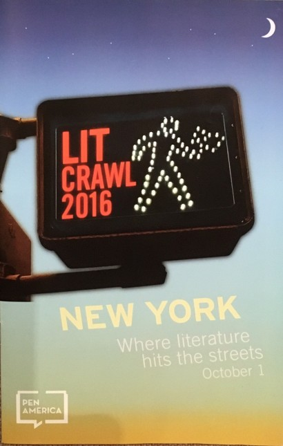 So exciting to participate in our first PEN America Lit Crawl!