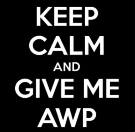 calm AWP