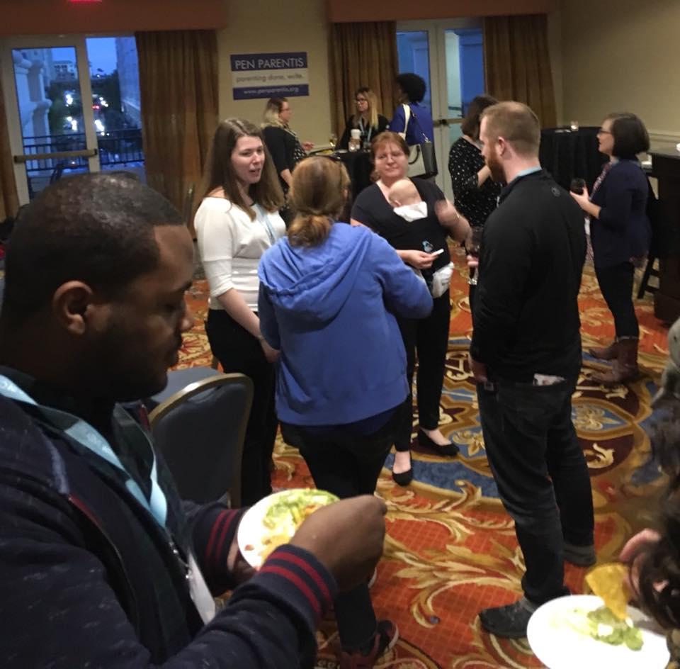 AWP 2018, Tampa FL - Meetup guests mingling