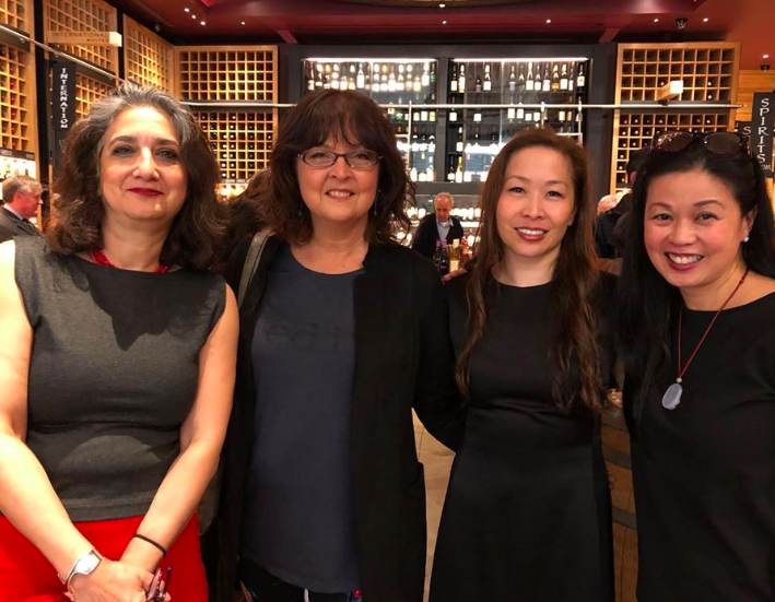 Members of the original Asian American Writers Workshop reunite at the Pen Parentis 10 year anniversary salon at the Oculus